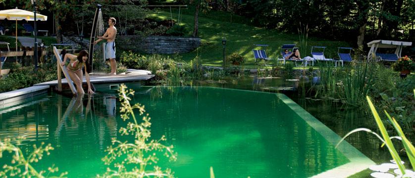 Beausite Park & Jungfrau Spa, Wengen, Bernese Oberland, Switzerland - garden plunge pool.jpg